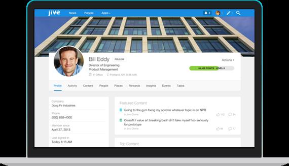 Interactive Social Intranet – Jive Software